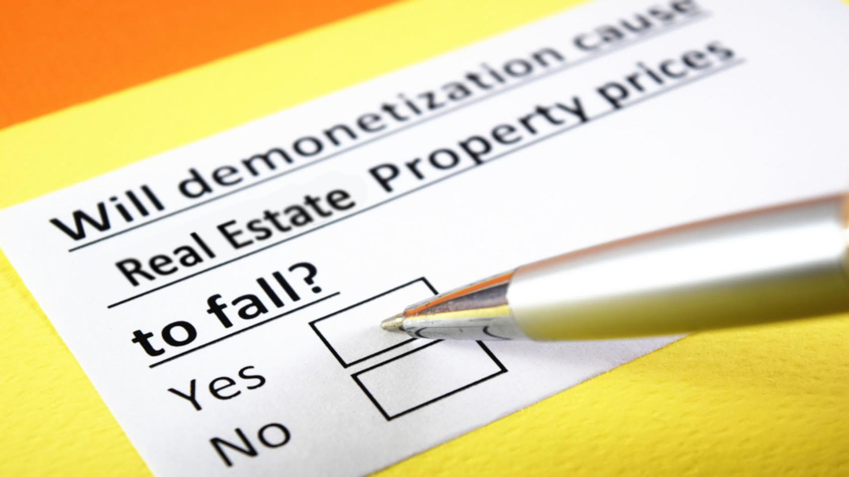 #POST DEMONETIZATION SURVIVAL OF FITTEST IN REAL ESTATE MARKETING AS WELL