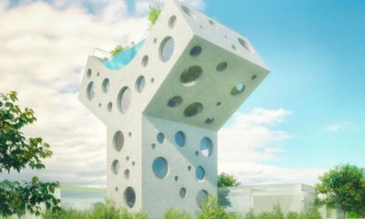 Y shaped house