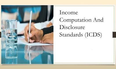 ICDS Draft On Real Estate Issued By CBDT