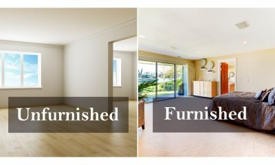Difference between semi-furnished, furnished & fully-furnished apartments.