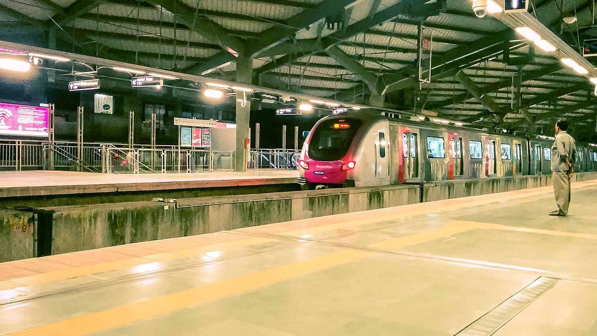 bkc metro station
