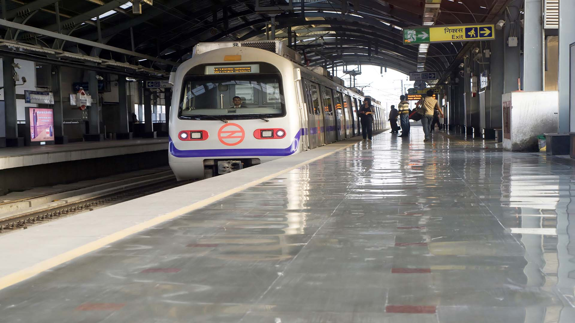 Delhi All Set To Run On The Pink Line Of Metro