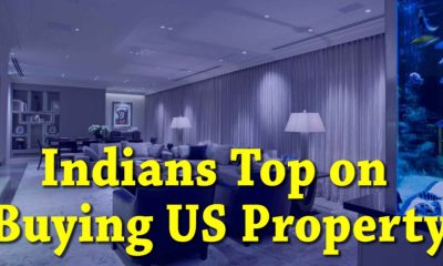 The 5th largest residential property buyers in the USA are Indians