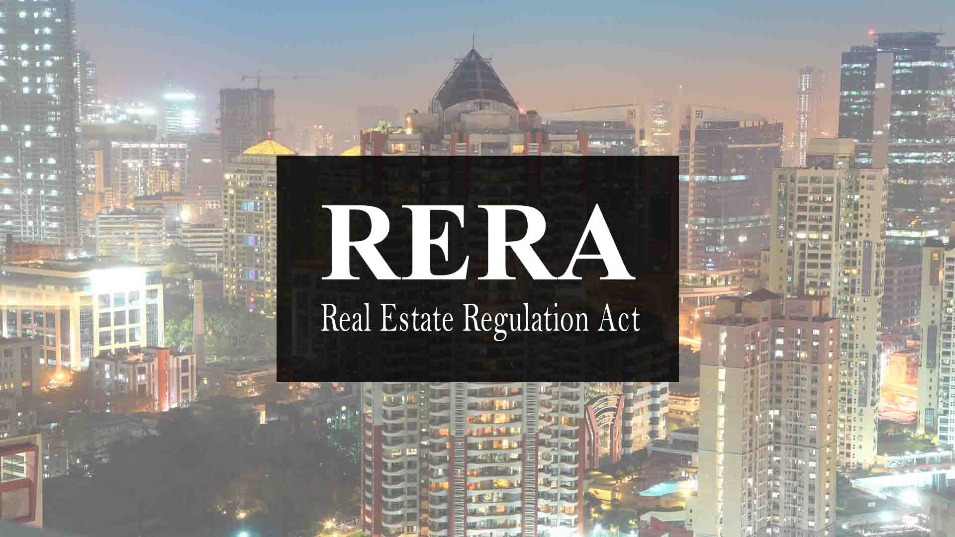 15 Out Of 29 States Have Complied With The RERA Deadline