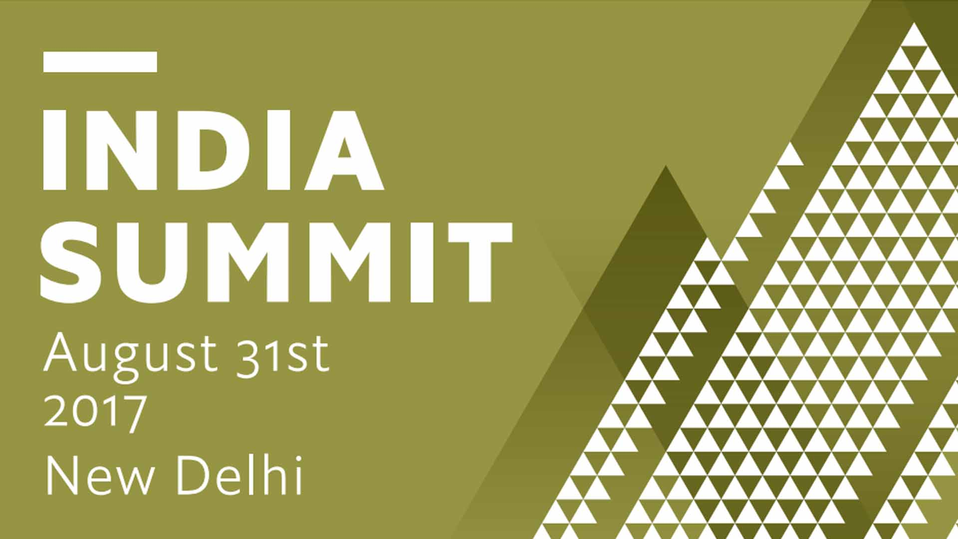 New India Summit 2017