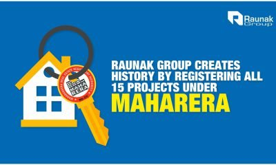 Raunak Group Creates History By Registering And Getting Certified On All Its Projects
