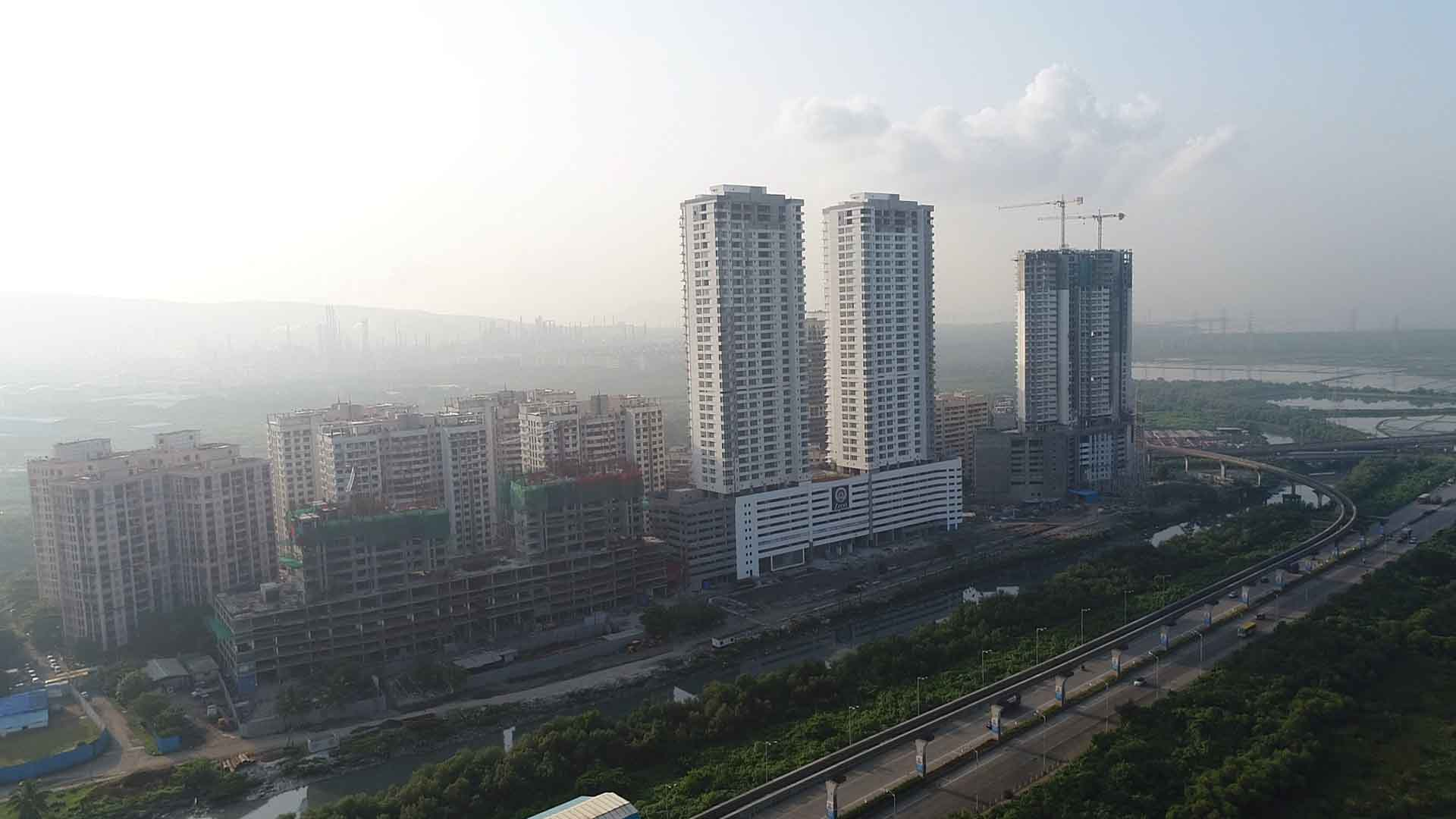 A Mumbai Suburbs' swift transformation from industrial to a residential zone: Wadala