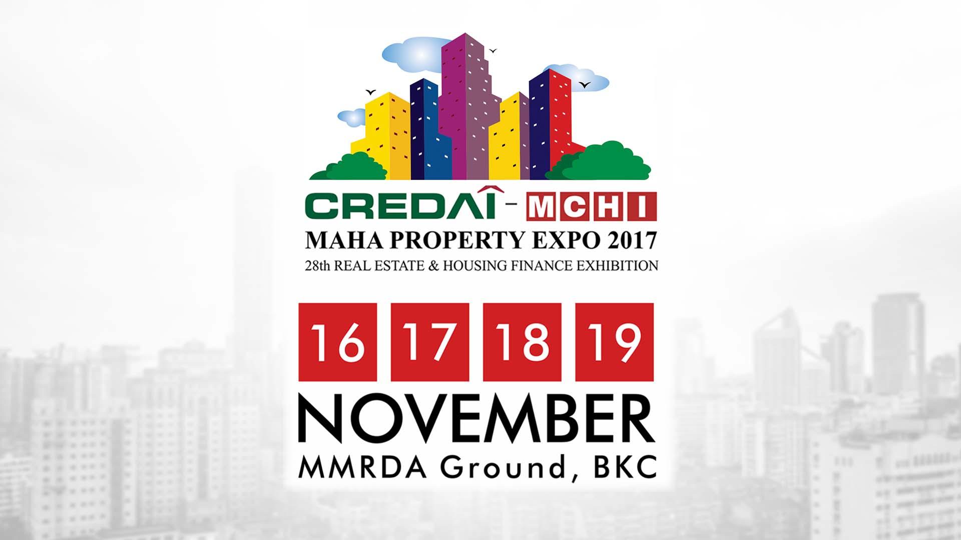 CREDAI-MCHI Maha Property Expo 2017 Brings Achhe Din