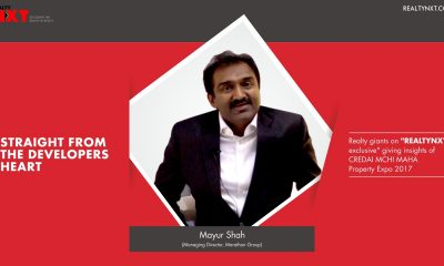Realty Nxt Interviews, Mr. Mayur Shah, MD Marathon Group at CREDAI MCHI