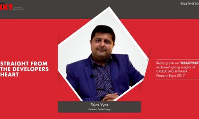 Realty Nxt Interviews, Mr.Tejas Vyas, Director Oyster Living at CREDAI MCHI