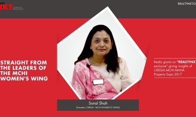 Realty Nxt Interviews, with Mrs. Sonal Shah, President CREDAI-MCHI WOMEN'S WING