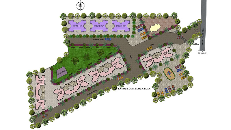Mayfair Aasaan Site Layout