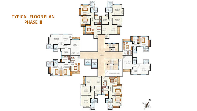Raunak Unnathi Woods Floor Plans Phase 3