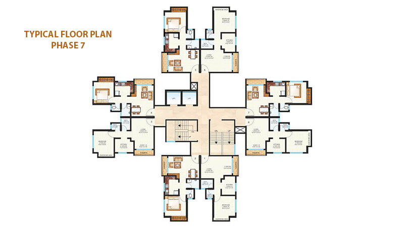 Raunak Unnathi Woods Floor Plans Phase 7