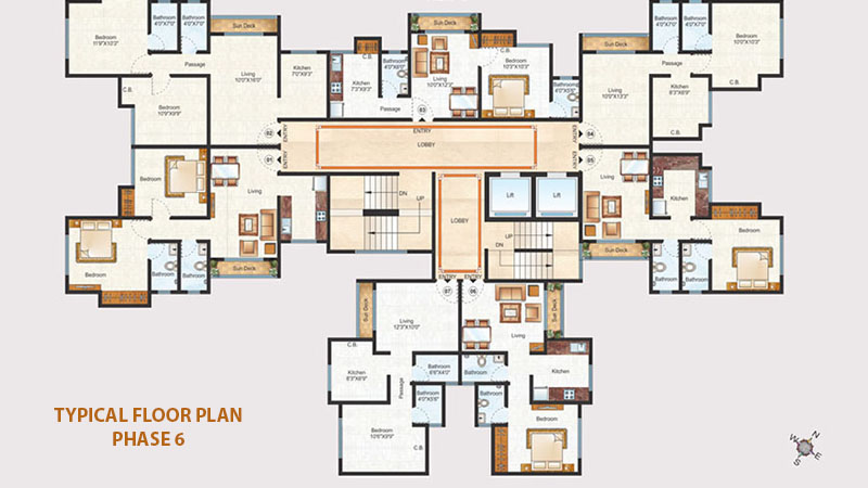 Raunak Unnathi Woods Floor Plans