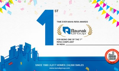 MahaRERA awards Raunak Group
