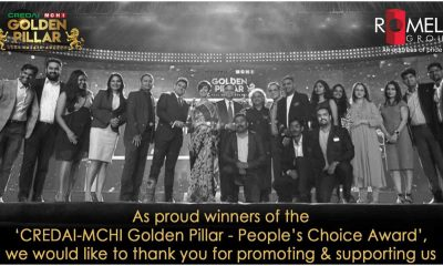 "Romell Group Wins the ""People's Choice Award"" at the Golden Pillar Award"