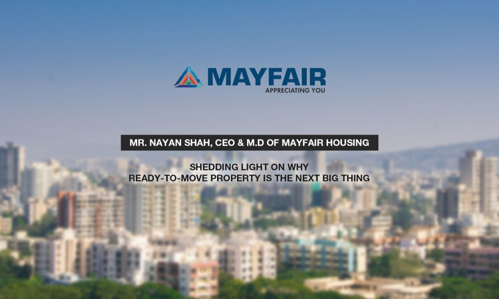 Mayfair Housing on Ready to move homes