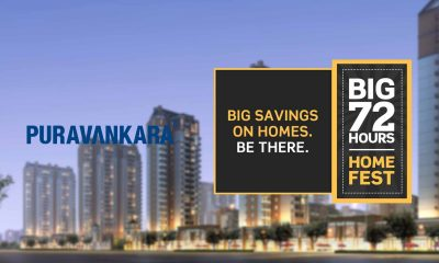 More Than 100 Homes Booked In 3 Days At Puravankara's Big 72 Hrs