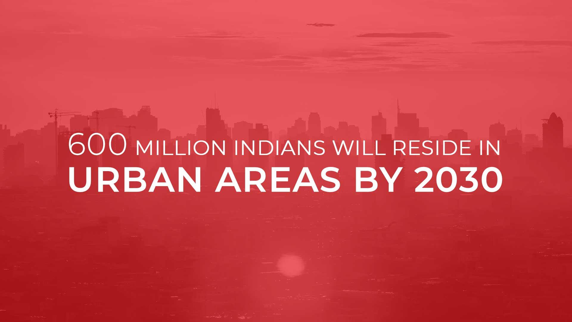 To Meet Urban Demands, India To Build 700-900 Million Sq.Mts. Till 2030