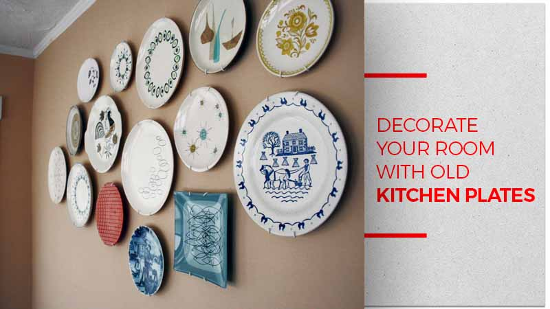 Decorate with plates