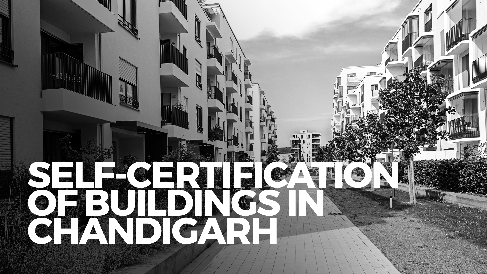 Self Certification Real Estate Plans From October In Chandigarh