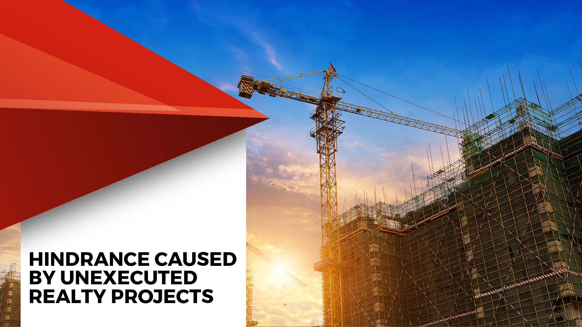 Unexecuted Projects Block Rs. 4.64 Lakh Crore: Anarock Study