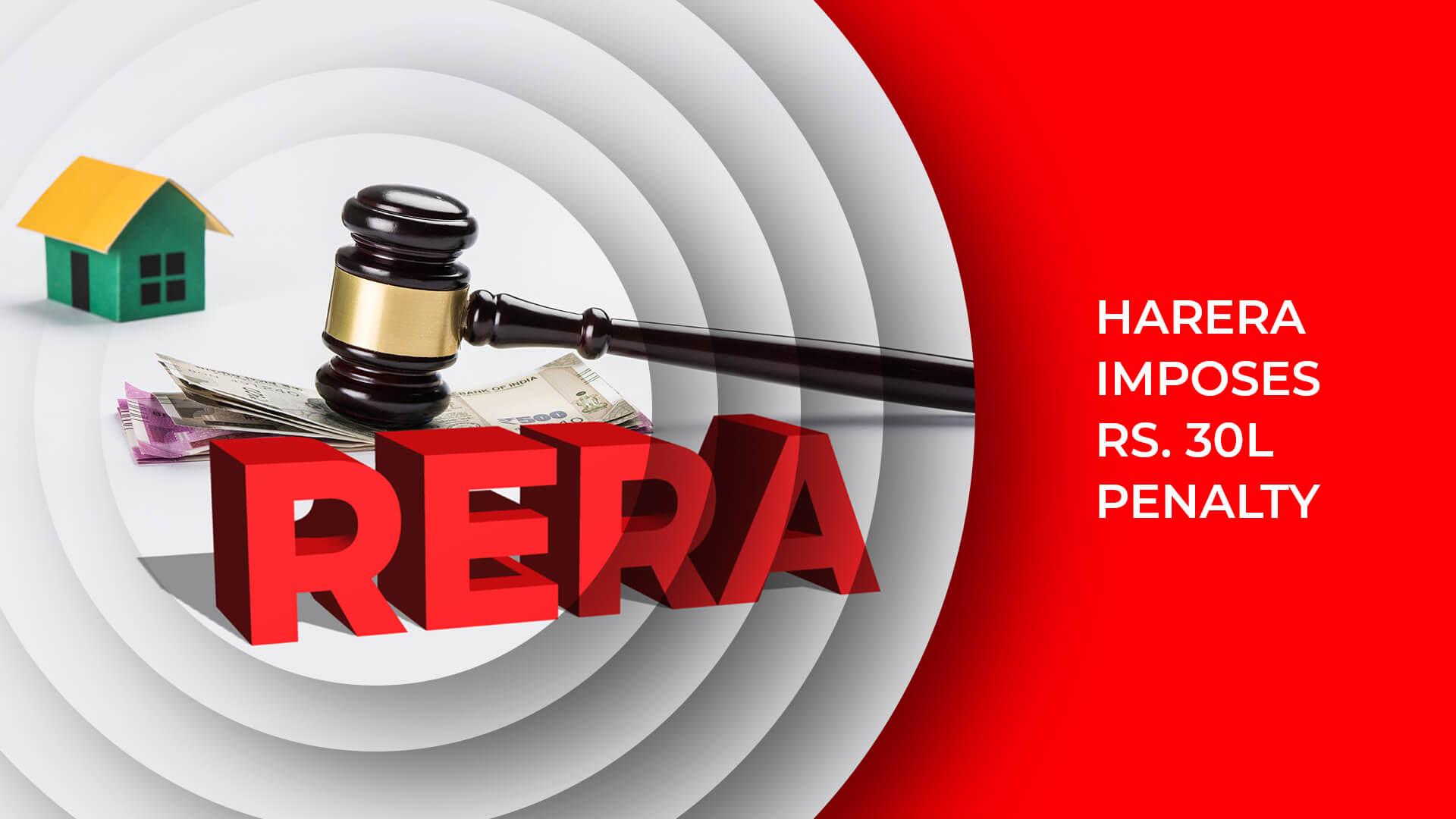 Haryana RERA Imposes 30 Lakh Fine On Indo-Japanese Joint Venture