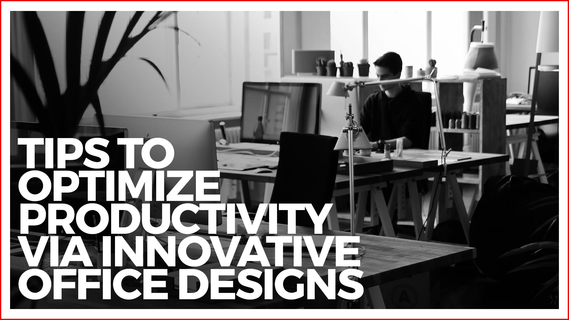 Top 5 Tips To Optimize Productivity Via Innovative Office Designs