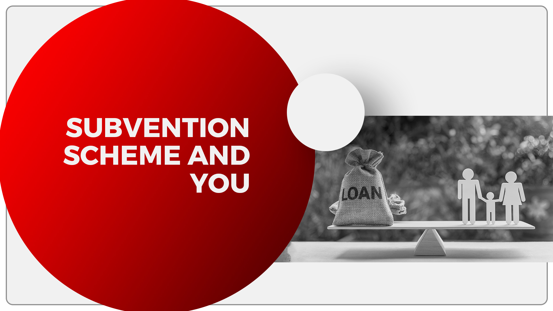 What is a Subvention Scheme In Real Estate