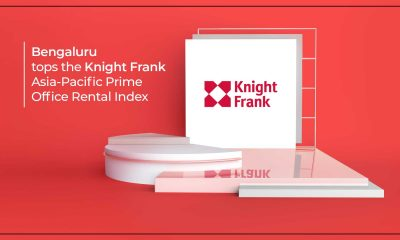 Bengaluru Tops Knight Frank Asia-Pacific Prime Office Rental Index