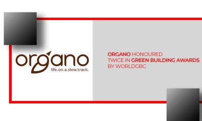 gano Honoured Twice in WorldGBC in Green Building Awards