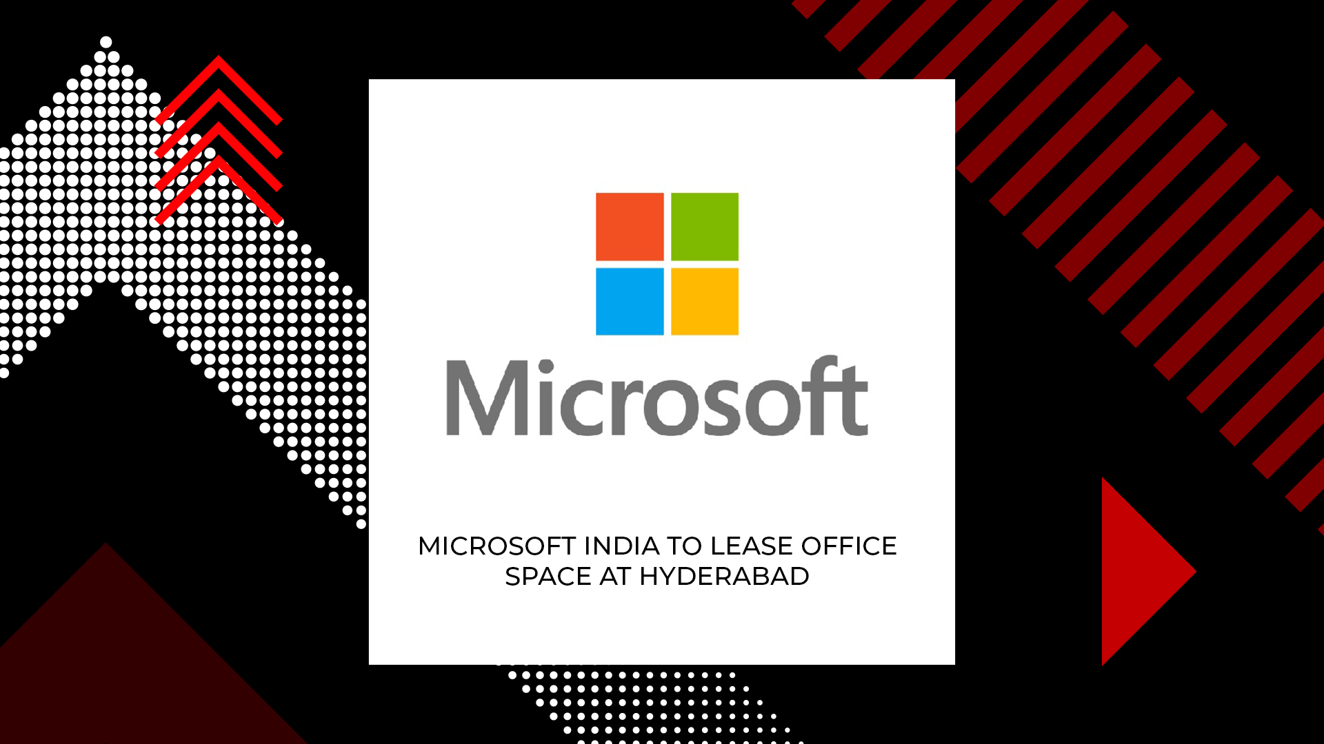 Microsoft India To Open Office In Hyderabad's Knowledge City