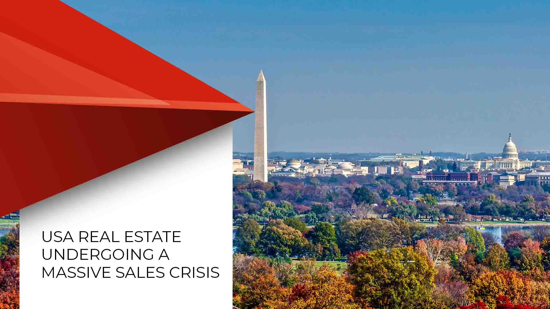 USA Residential Real Estate Sales Plunge To An All Time Low