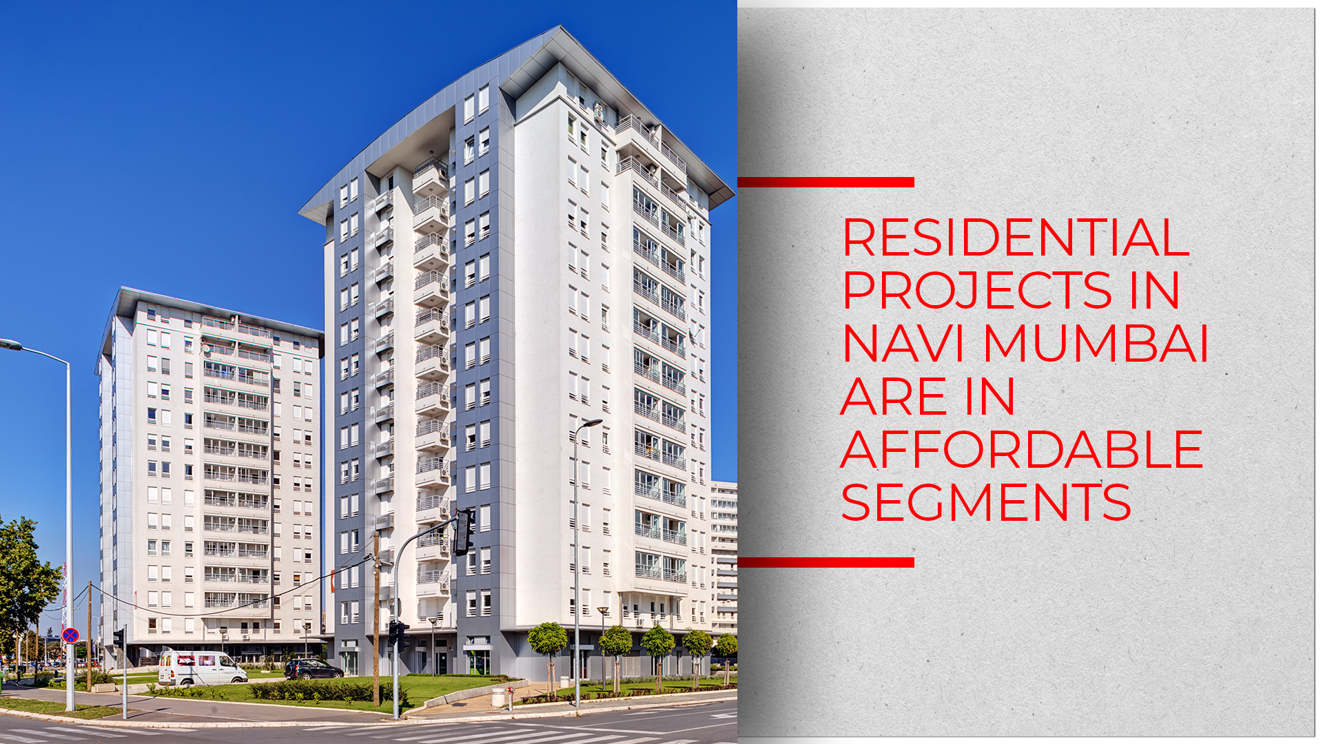 80% of Navi Mumbai Launches Affordable-to-mid-segment Projects