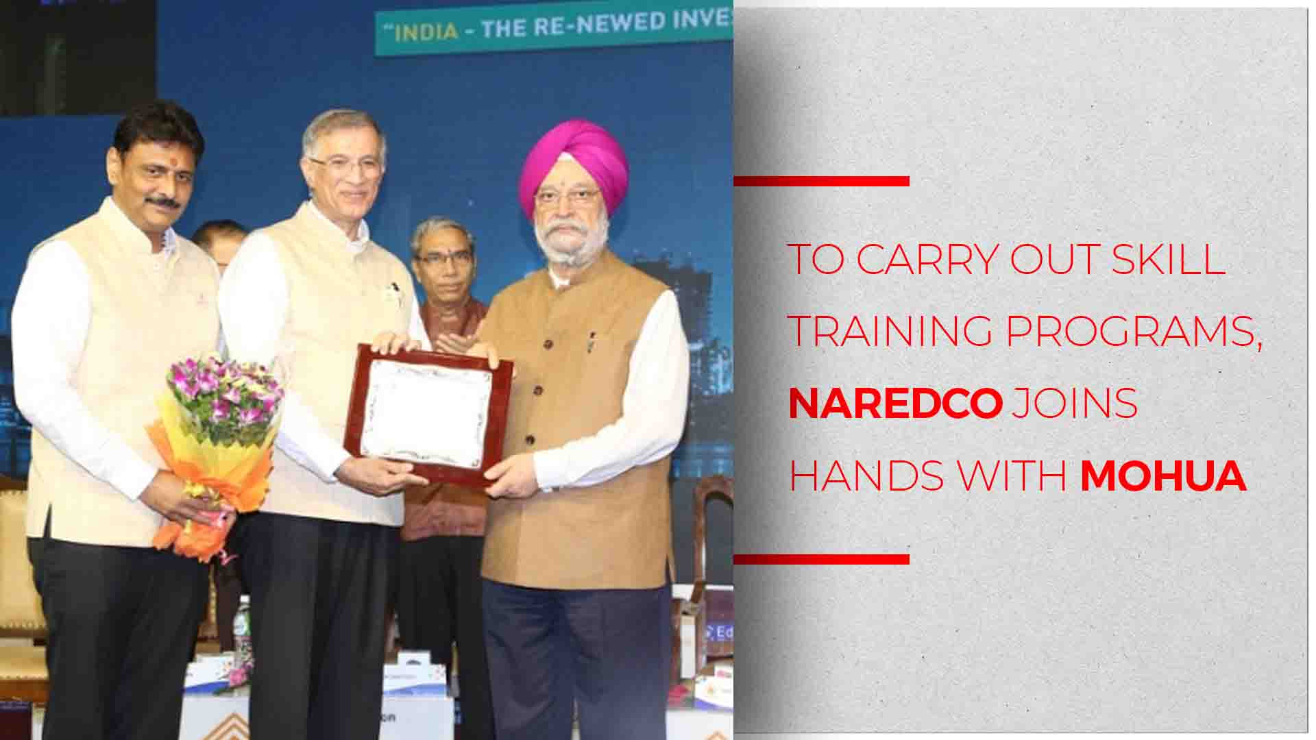 NAREDCO Teams Up With Ministry of Housing and Urban Affairs