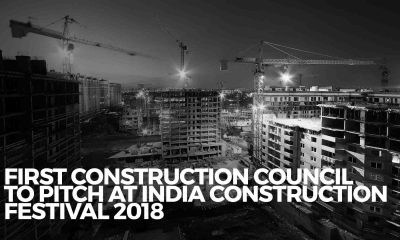 FIRST Construction Council Pitch EPO at India Construction Fest 2018