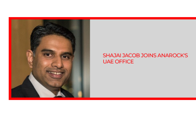 Shajai Jacob Joins ANAROCK UAE Office as CEO