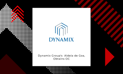 The Dynamix Group's Aldeia de Goa, Obtains Occupancy Certificate
