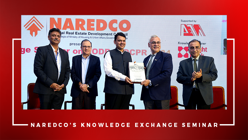 CM Devendra Fadnavis at Naredco seminar