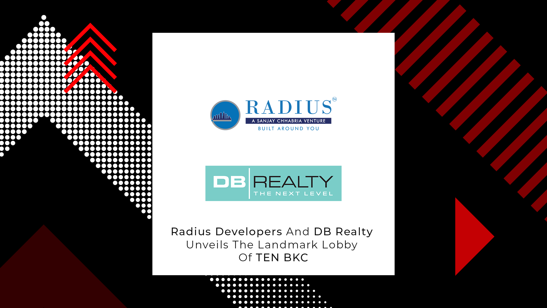 Residential Lobbies Redefined By Radius Developers And DB Realty