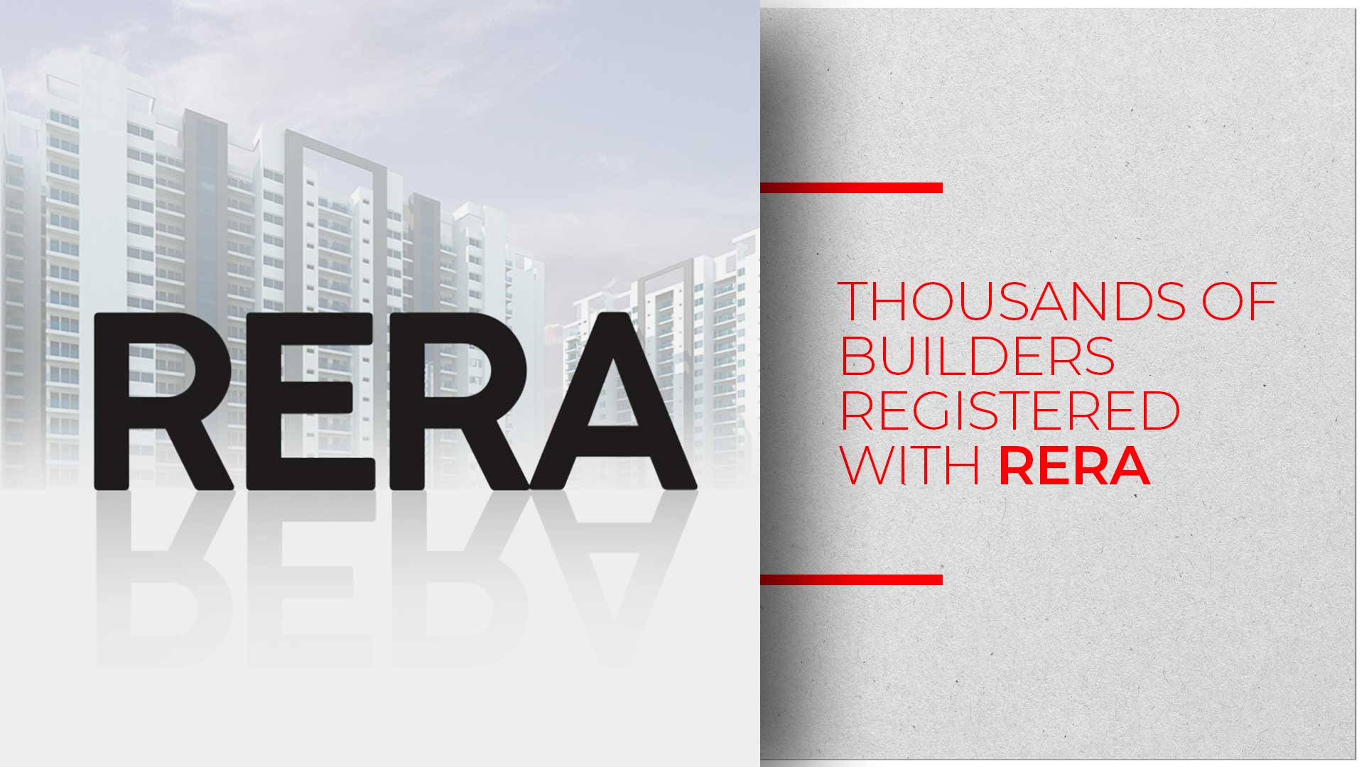 34,000 Real Estate Projects Have Registered With RERA In India