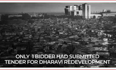 Dharavi Redevelopment Tender Deadline Postponed To Jan 8