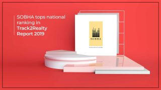 SOBHA Tops National Ranking At Track2Realty Best Practice Report