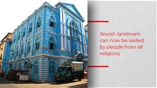 Prestigious Blue Synagogue Finally Reopens With Renewed Grandeur