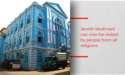 Prestigious Blue Synagogue Finally Reopens With Renewed Grandeur