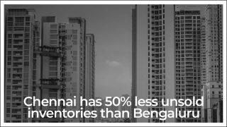 Chennai Overtakes Bengaluru, Unsold Inventory Less than 50%