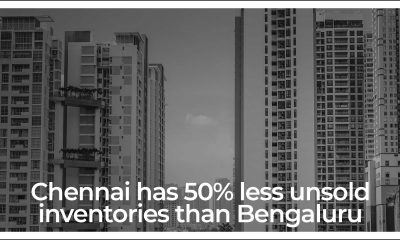 Chennai Overtakes Bengaluru, Unsold Inventory Less than 50%