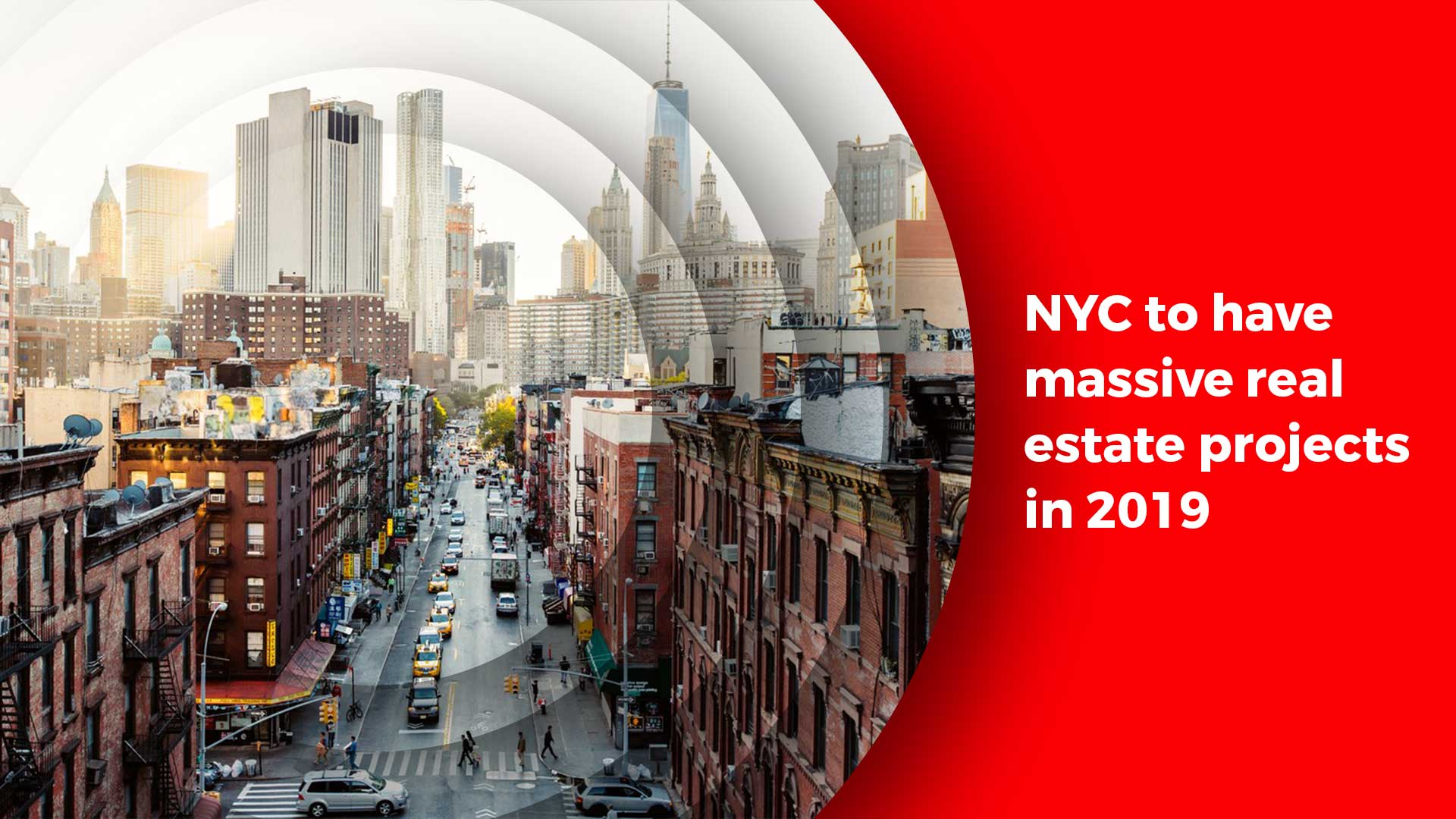 Real Estate Booms in New York With Extensive Projects Lined Up