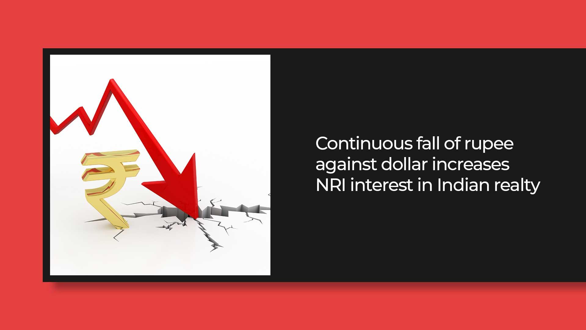 NRI Investors Flock To India's Real Estate As The Rupee Weakens
